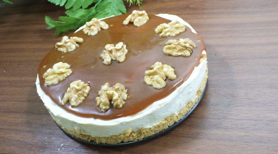 تشيز كيك التمر البارد Food Cake Desserts