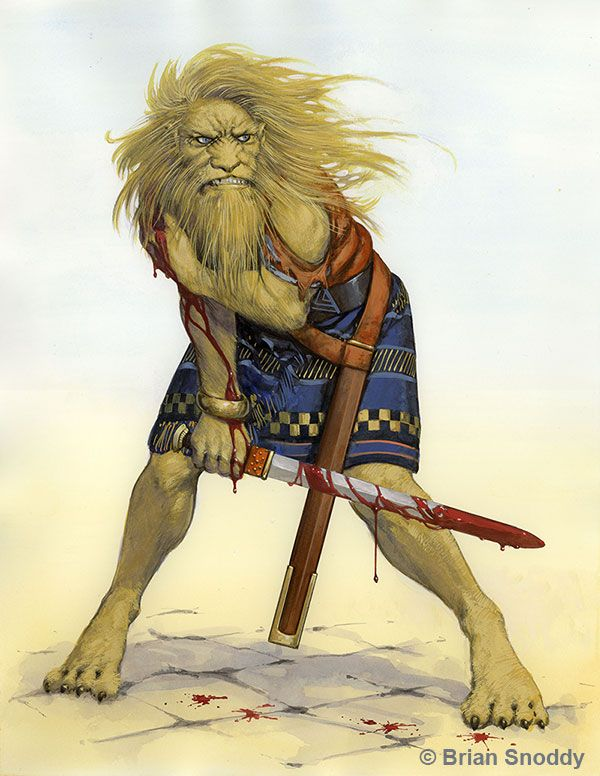 Lion like Men of Moab