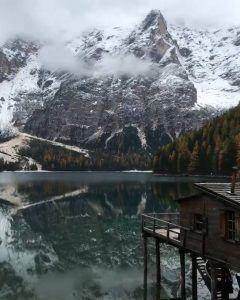 Pragser Wildsee in Italy | Video Credit: Chris Burkard Photography #news #alternativenews