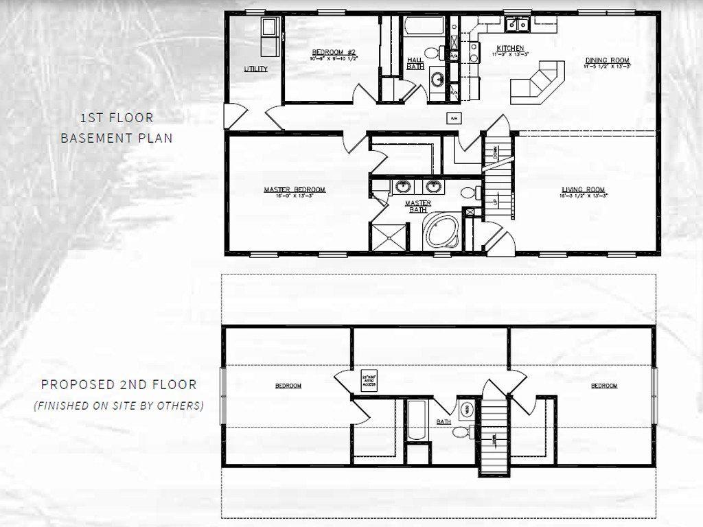 Lakeside Cape Cod Modular Home 1,400 SF 2 Bed 2 Bath