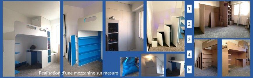 Travaux de Menuiserie pour une chambre d'enfant de 12m², J