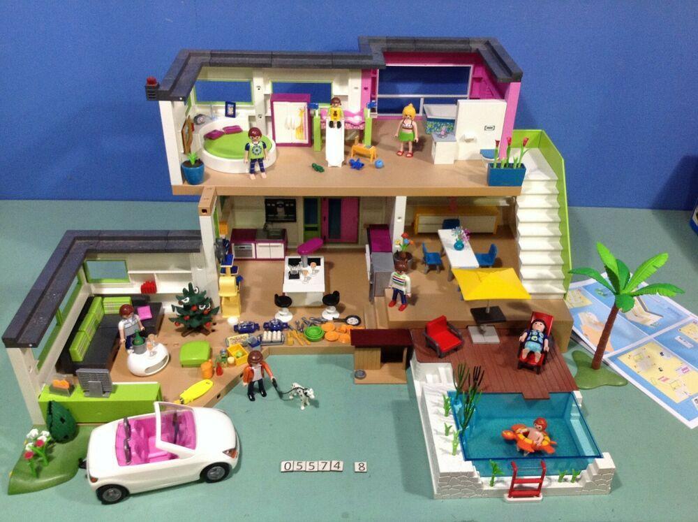 eBay #Sponsored (O8.8) playmobil maison moderne ref 8 8 ref