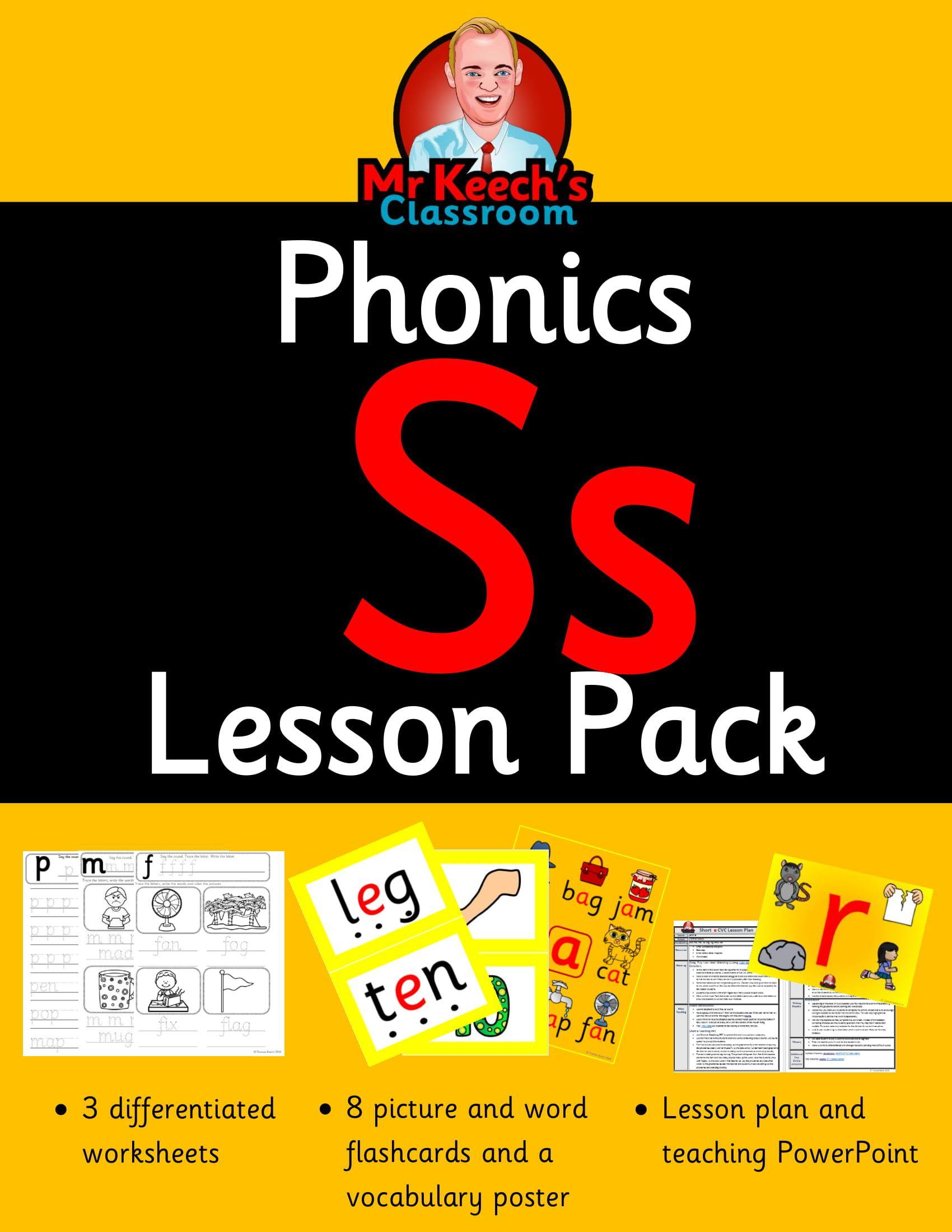 Phonics Worksheets Lesson Plan Flashcards Jolly Phonics