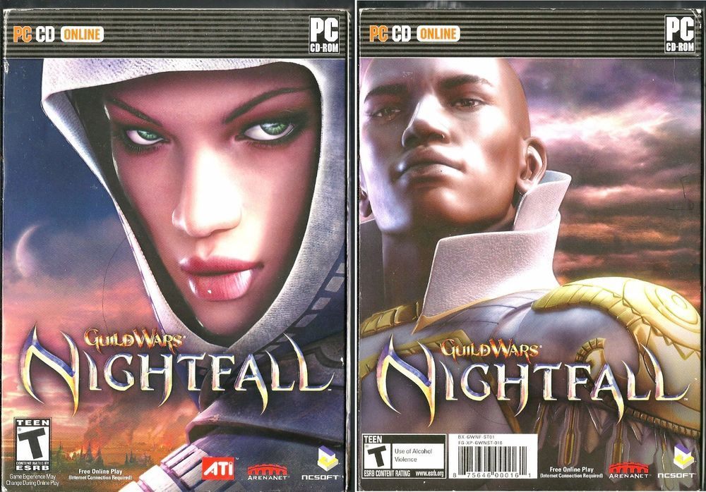 Guild Wars: Nightfall PC WINDOWS BRAND NEW FACTORY SEALED