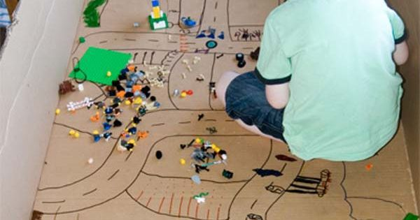 27 DIY Kids Games and Activities Can Make With Cardboard Boxes | Maze, Toys and Awesome