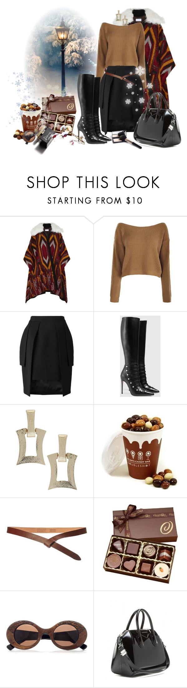 упуп by perelka111 on Polyvore featuring Chloé, STRATEAS.CARLUCCI, Gucci, Givenchy, Cutler and Gross, Toast, Dylan's Candy Bar and D&G