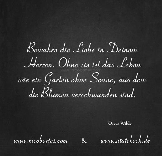 Oscar Wilde Zitat Ich Liebe Dich Zitate Ich Bin Immer Fur Dich Da Weise
