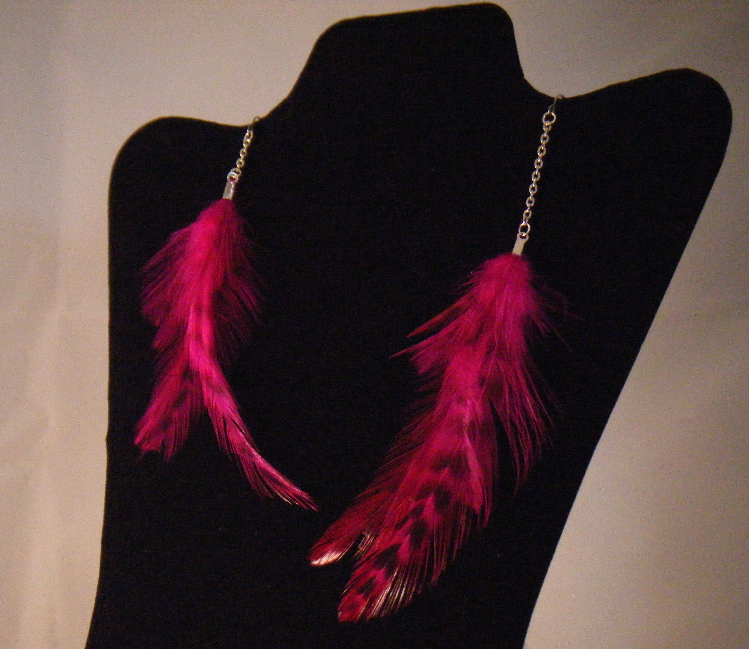 Pink Feather Flare