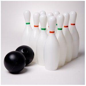 plastic bowling set