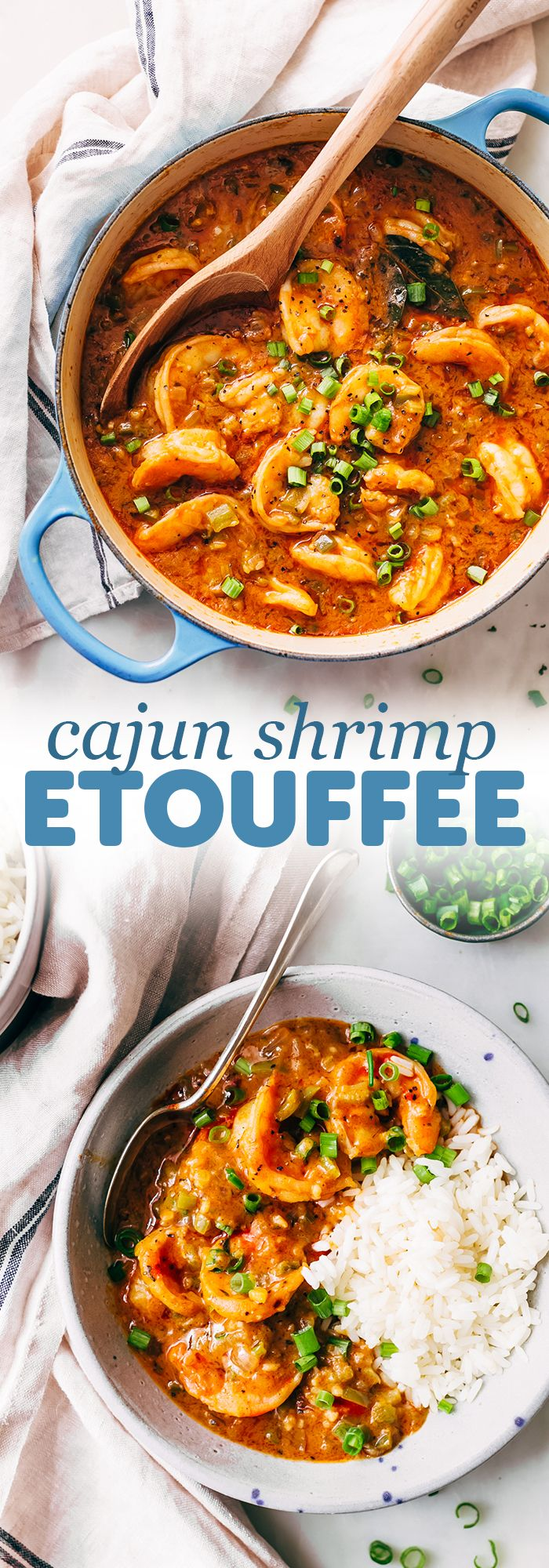Cajun Shrimp Étouffée Recipe | Little Spice Jar