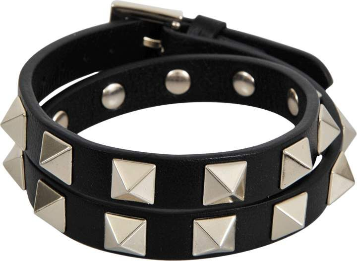 3b41bec80a7e Valentino Rockstud choker and double bracelet  Valentino