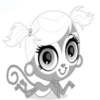 littlest pet shop coloring page � minka tv show