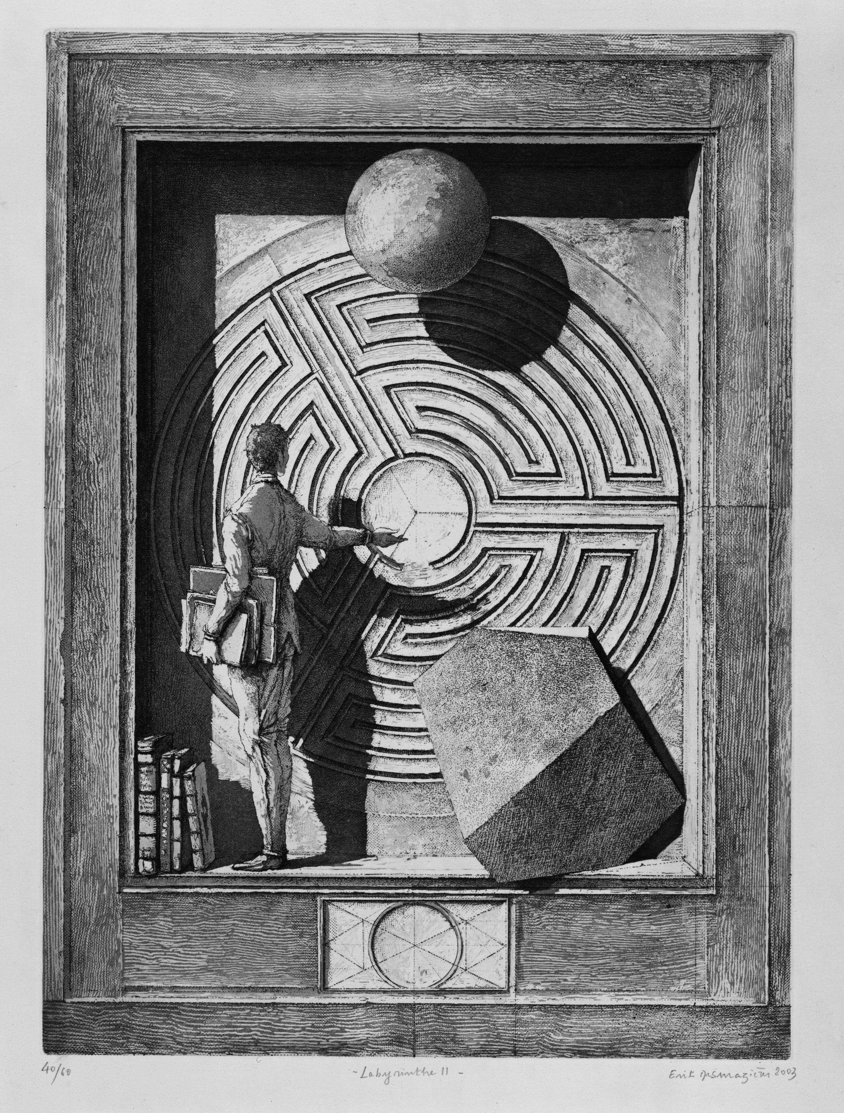 Resultado de imagen de Érik Desmazières geometrie