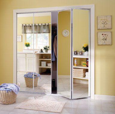 Door Bifold Mirror 36 Mirrored Bifold Closet Doors Sliding Closet Doors Mirror Closet Doors
