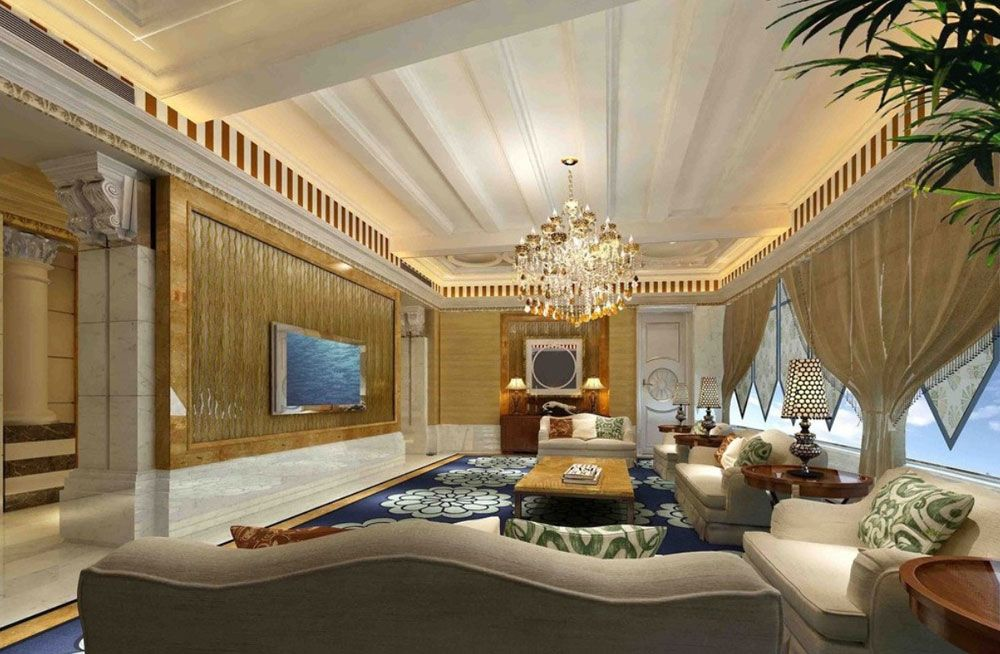 Wooden Ceiling Design Ideas  Wooden Ceiling Design Wooden Amusing Luxury Living Room Design Ideas Review