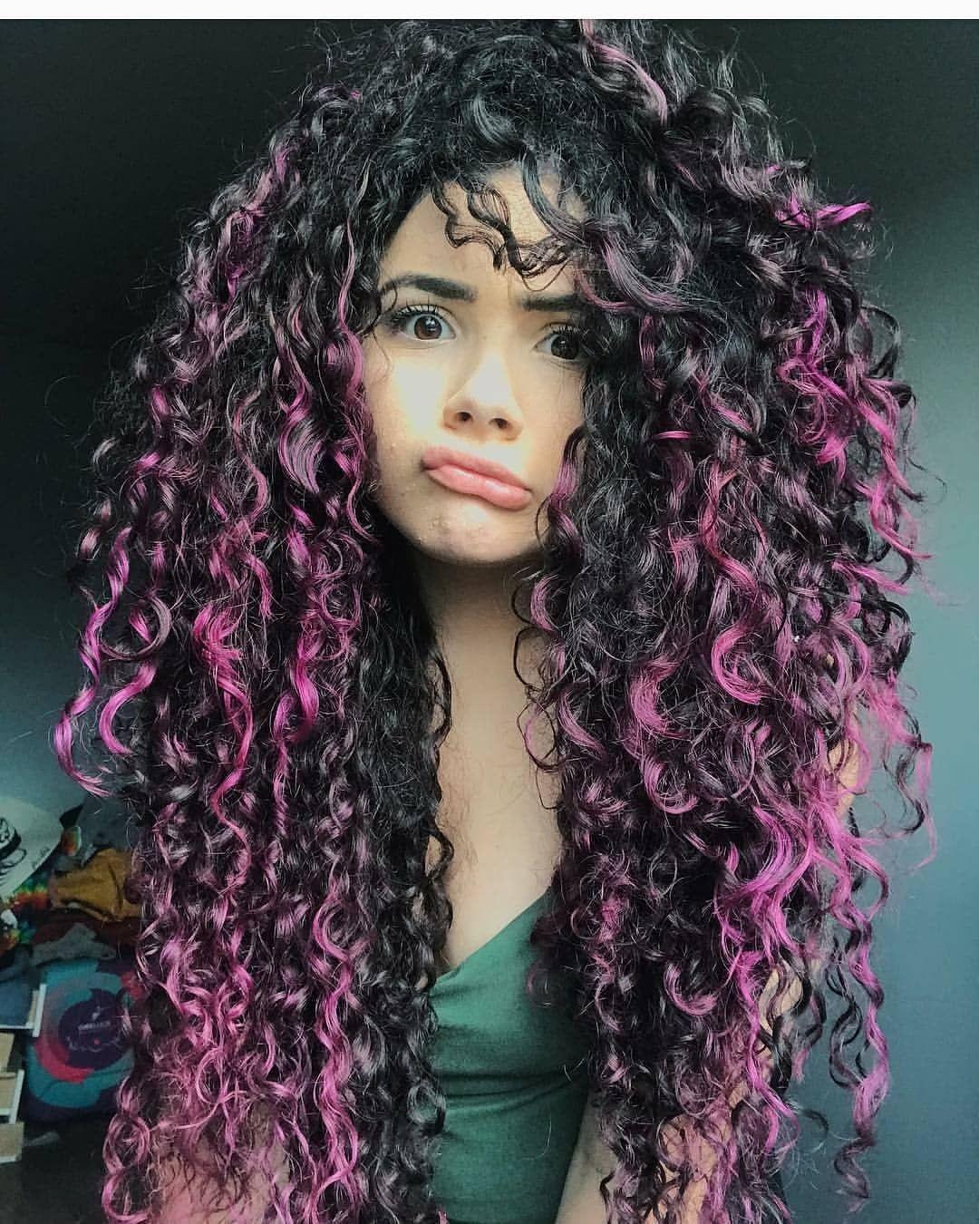 мой самый креативное окрашивание длинных кудрявых волос фото фото