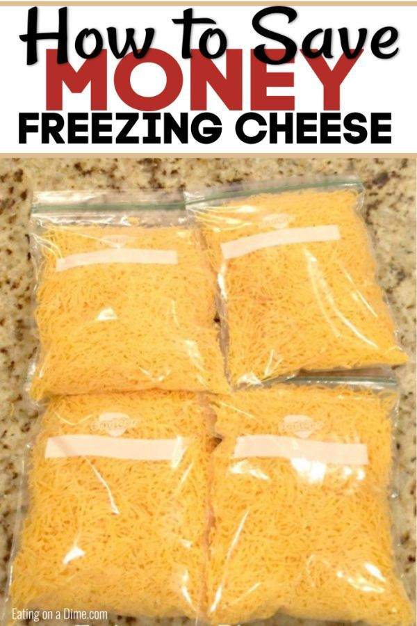 Can you freeze cheese - Learn how to freeze cheese | Feed Me