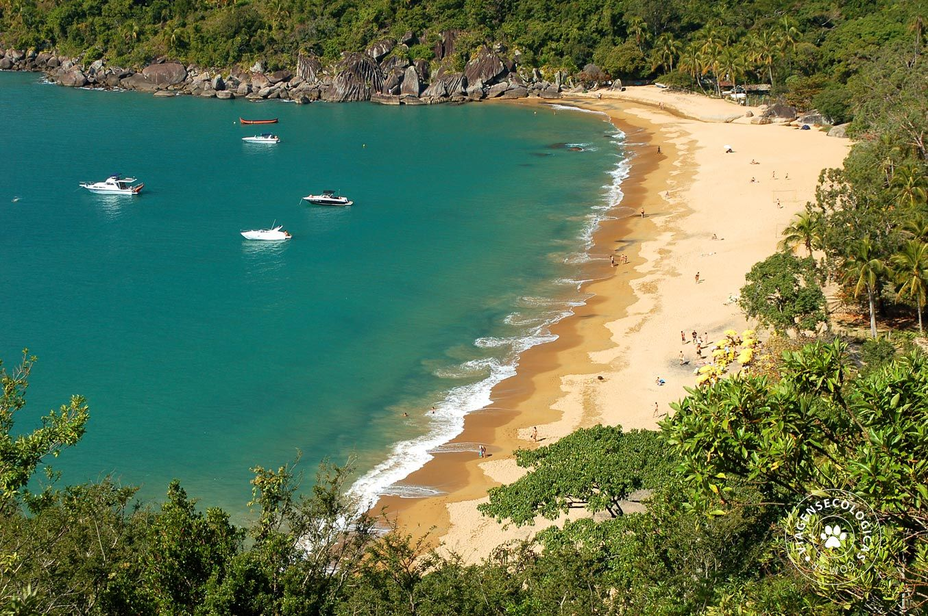 Praia Do Jabaquara Considerada Uma Das Mais Bonitas De Ilhabela