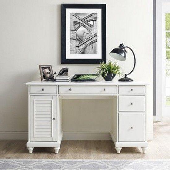 Palmetto Computer Desk Finish White New
