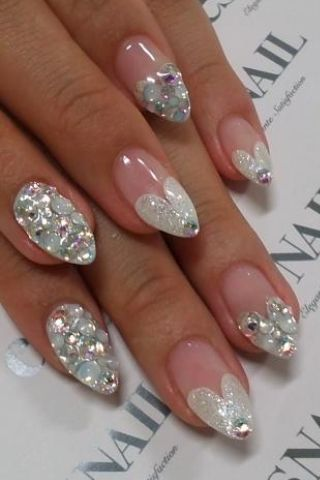Perfect 3 i have found my nail design for my december winter perfect 3 i have found my nail design for my december winter wedding prinsesfo Images