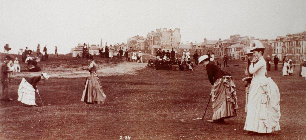 Lady's Club, 1886, St. Andrew's, Scotland. | Golf fashion, Golf inspiration, Womens golf fashion