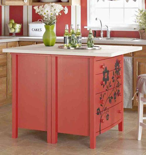 20 Creative and Repurposed Kitchen Storage Ideas Dresser, Kitchens