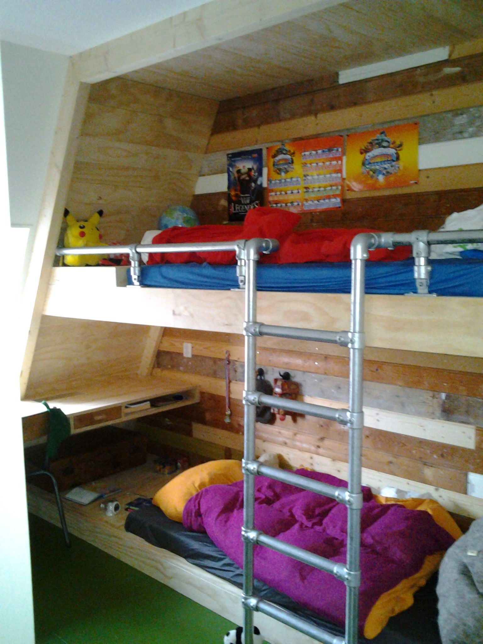 Kinder Stapelbed Door David Interieurbouw Bunk Bedskidsroombedroom Kidsroom