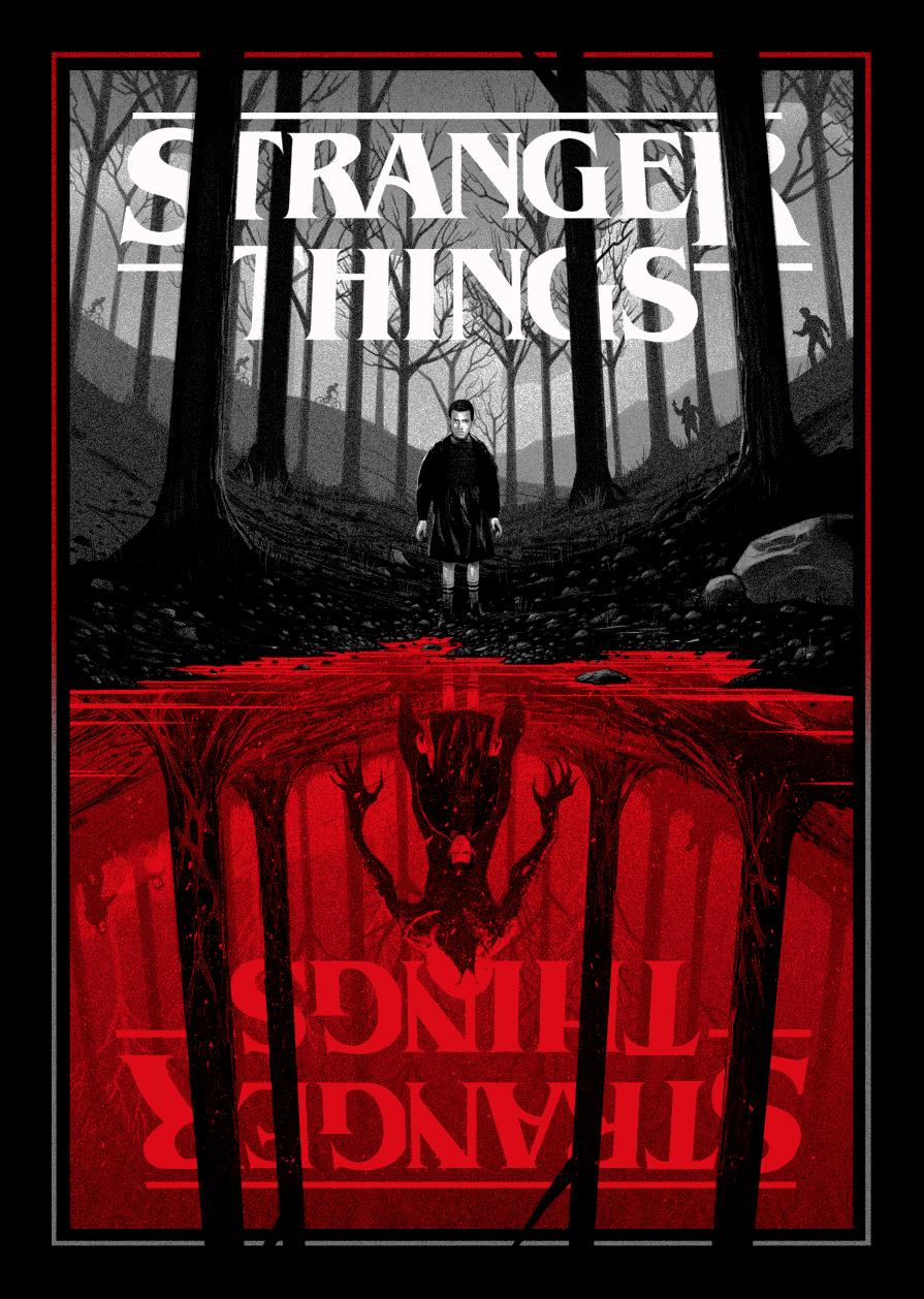 Stranger Things (2016) HD Wallpaper From