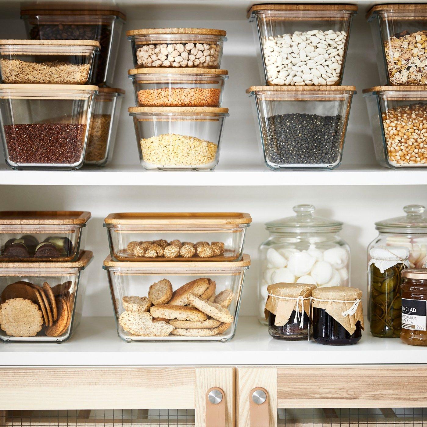 Aufbewahrung Ikea 365 Vorratsbehalterserie Lebensmittel Ikea Und Lebensmittelbehalter