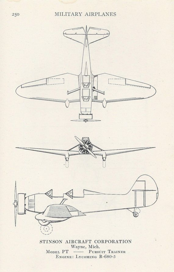 vintage airplane print aviation illustration diagram military airplanes airplane diagram aviation by vintagebuttercup 10 00