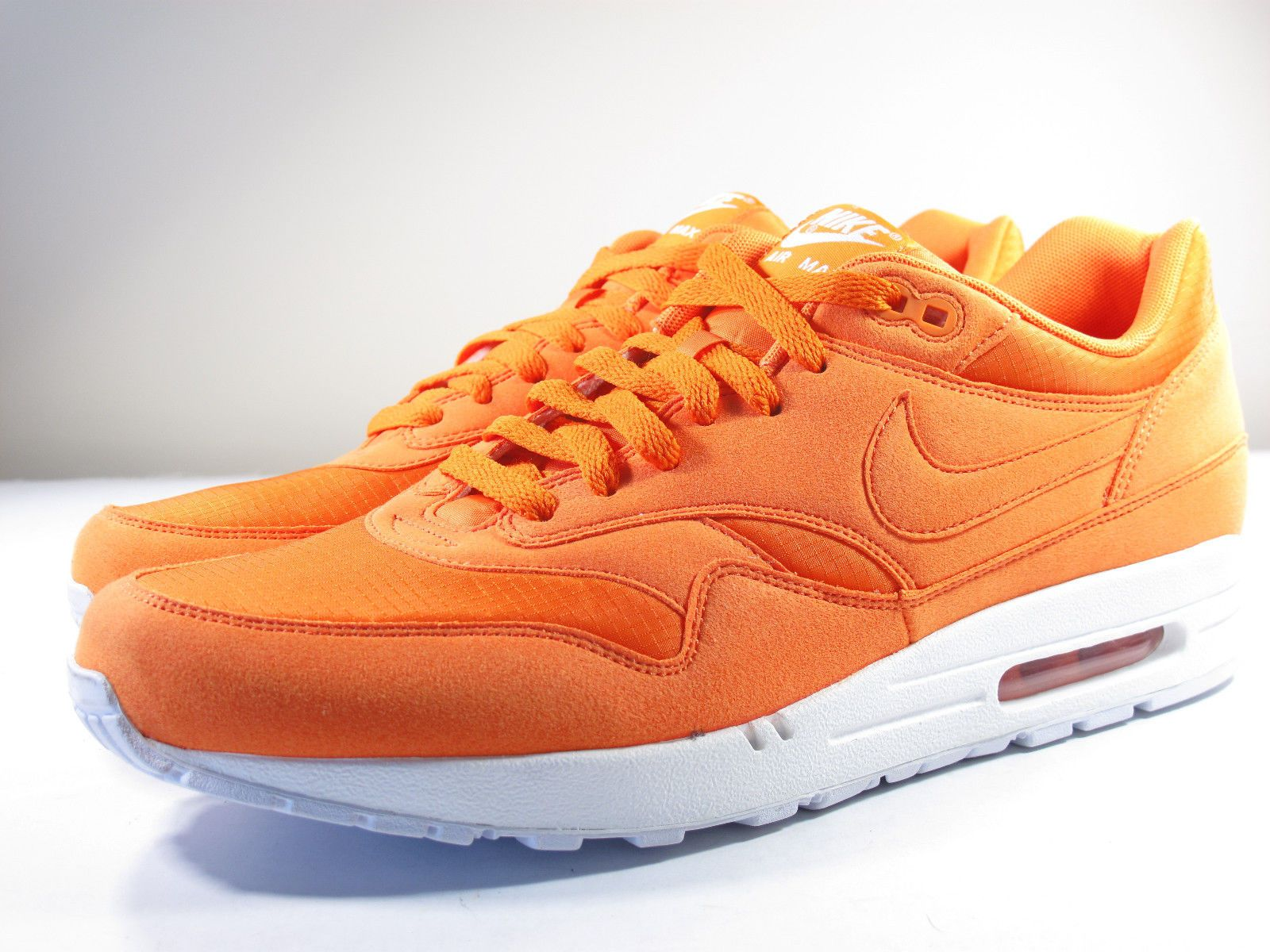 NIKE AIR MAX 1 MANDARIN TOTAL ORANGE WHITE 308866 808 $135