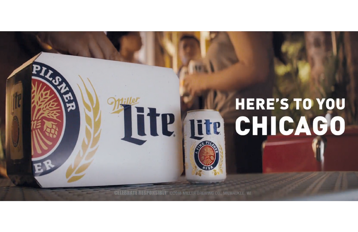 Miller Lite Unveils New Tv Spot For Chicago Where It Ranks As The City S Top Selling Beer Miller Lite Beer Tv Spot
