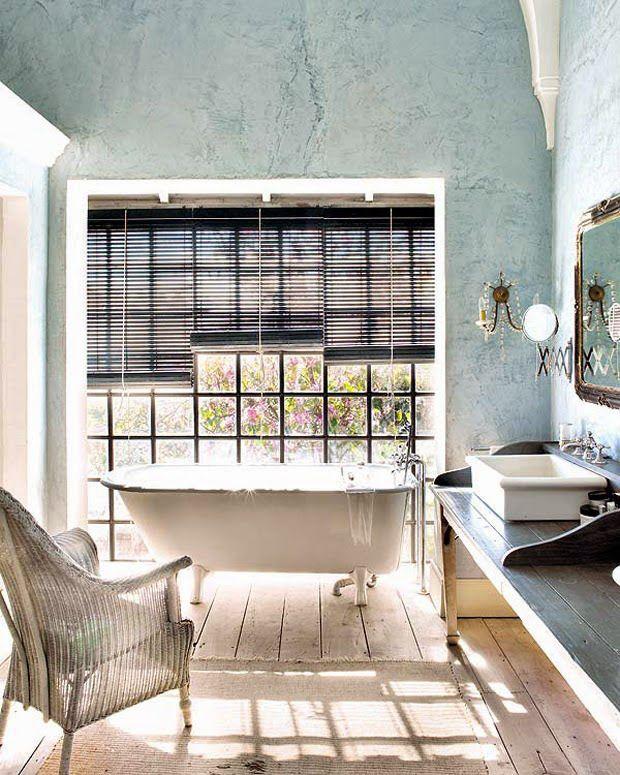 🥇 30 baños vintage para inspirarte   Casa estilo, Diseño ...