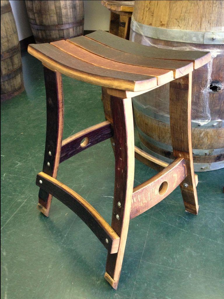 Whiskey Barrel Bar Stool More Wine Stools