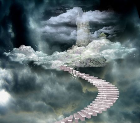 Ashley Near Me >> Steps to Heaven Castle - Fantasy & Abstract Background Wallpapers ... | those in heaven | Stairs ...