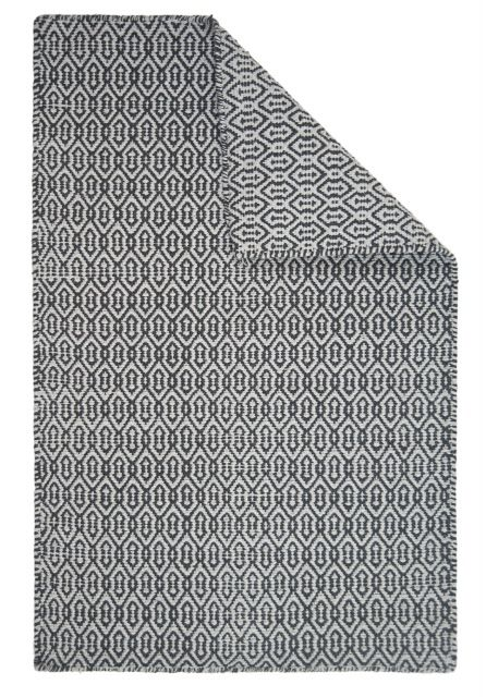 Deerfield Rug In Light Dark Grey Our Durable Eco Cotton Rugs Are