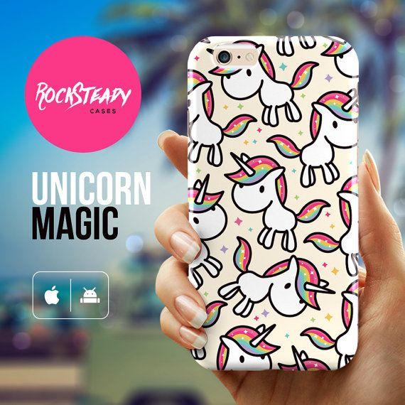 Cartoon unicorn iPhone 6 case unicorn iPhone 6 by RockSteadyCases