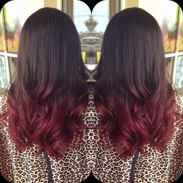 Cherry Bombre The Perfect Style For Brunettes Hair Coloring