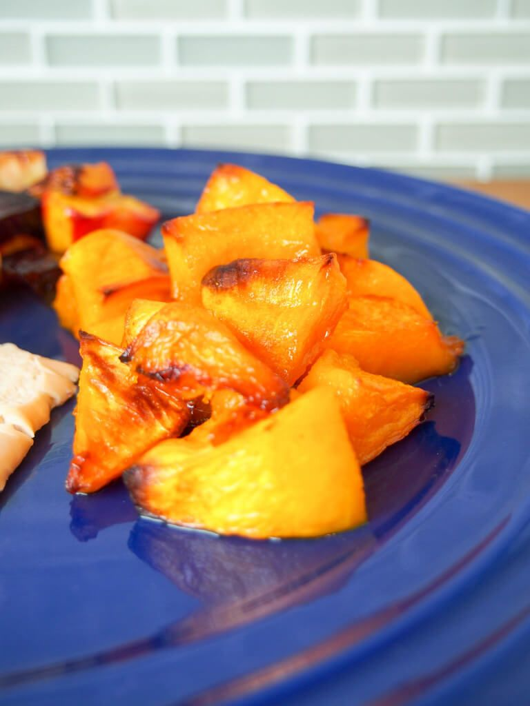 Maple Roasted Buttercup Squash Is So Easy To Prepare But Has Such Fantastic Flavor A Perfect Side T Buttercup Squash Squash Recipes Paleo Healthy Side Recipes