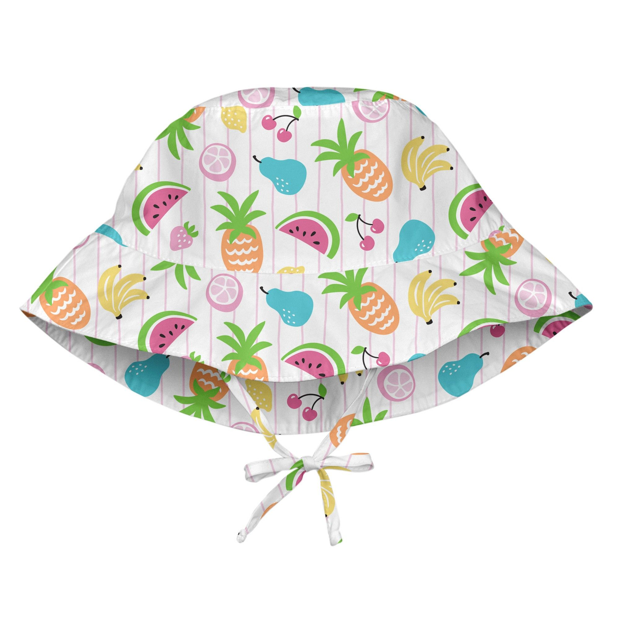 37ce50dc09b i play Baby Girls  Sun Protection Bucket Hat - White M L