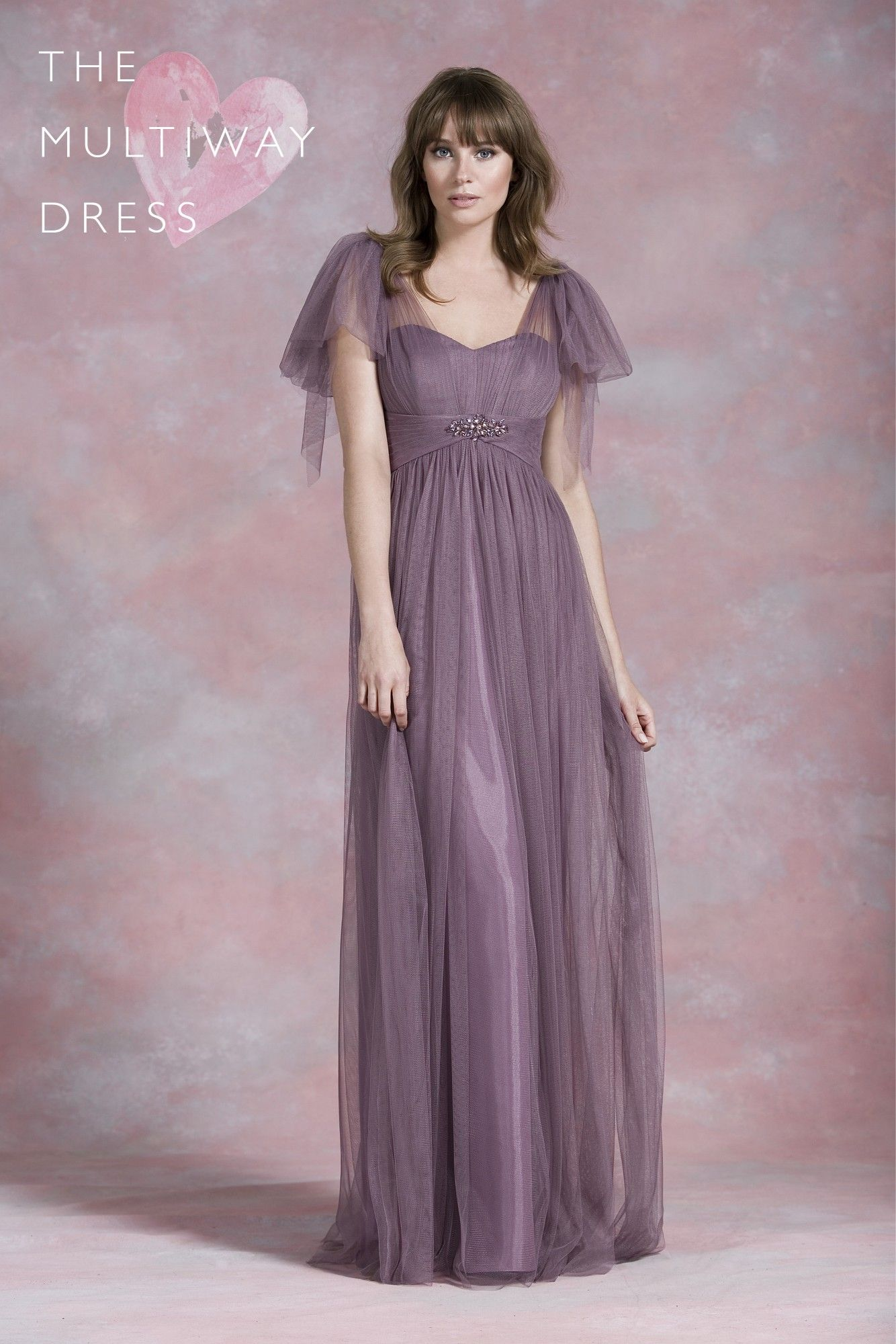 Kelsey rose multi way wear convertible bridesmaid dress multiway kelsey rose bridesmaids dress 50177 6 different lengths to suit both tall and petites ombrellifo Images