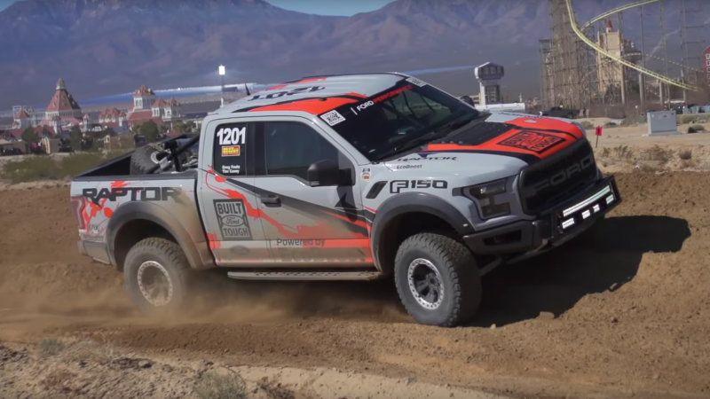 2017 Ford F 150 Raptor Preps For Baja Return Off Road Racing