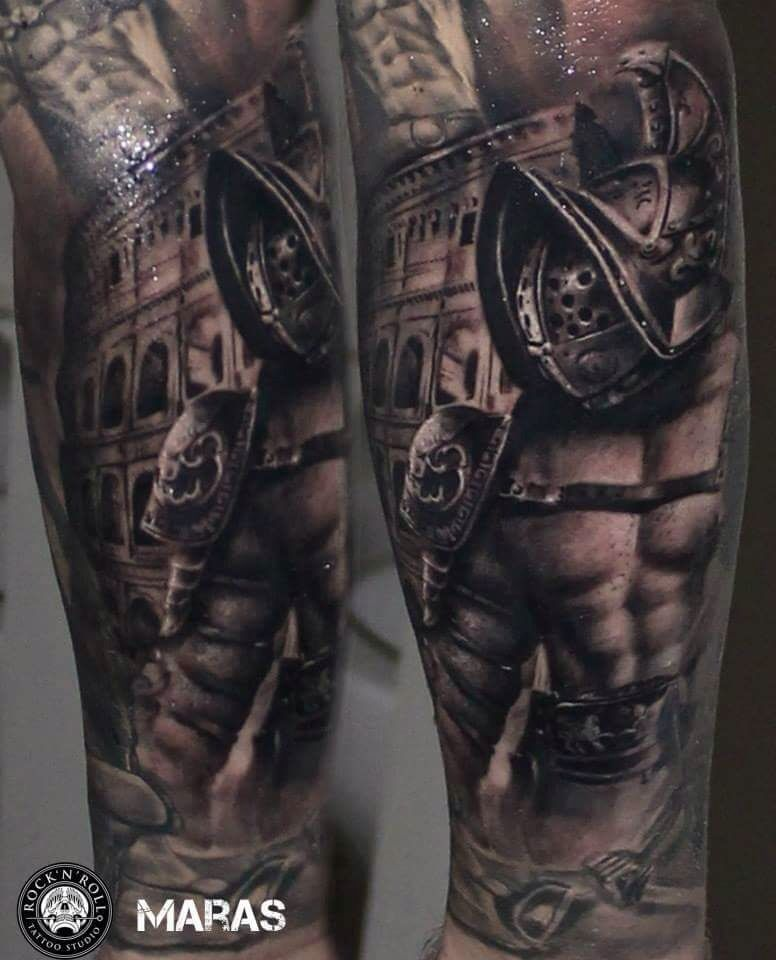 Gladiator gladiador pinterest tattoo tatoo and tatting for Italian warrior tattoos