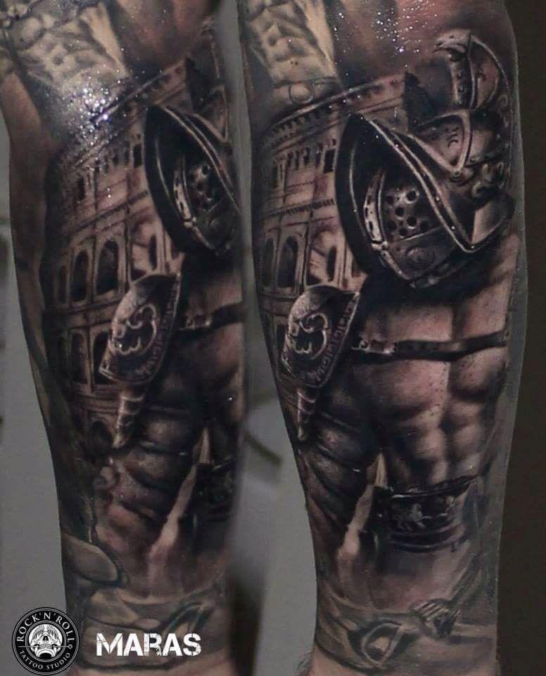 Gladiator Gladiator Tattoo Tattoos Tattoos For Guys
