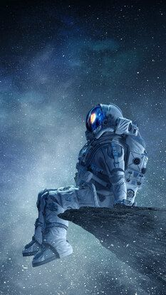 Astronaut Outer Space Stars Planet 4k Hd Mobile And Desktop Wallpaper 3840x2160 1920x1080 2160x3840 10 Space Artwork Astronaut Wallpaper Astronaut Art