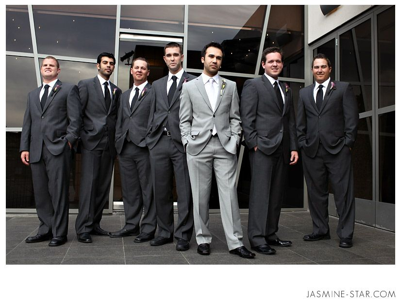 Great Posing Of The Groomsmen With Groom Photo By Jasmine Star Seven