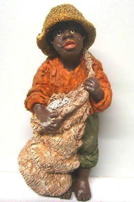 african black folklore   June Mckenna 1989 Black folk Art. African American ...   Paper Mache