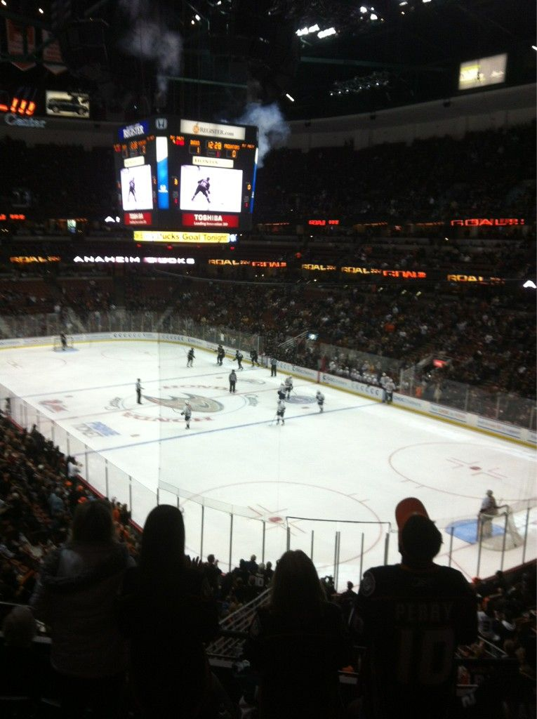 The Atmosphere From Your Seat In Honda Center After A Ducks Goal Is Priceless Makes Every Game Worth Going To Just Anaheim Ducks Hockey Anaheim Ducks Anaheim