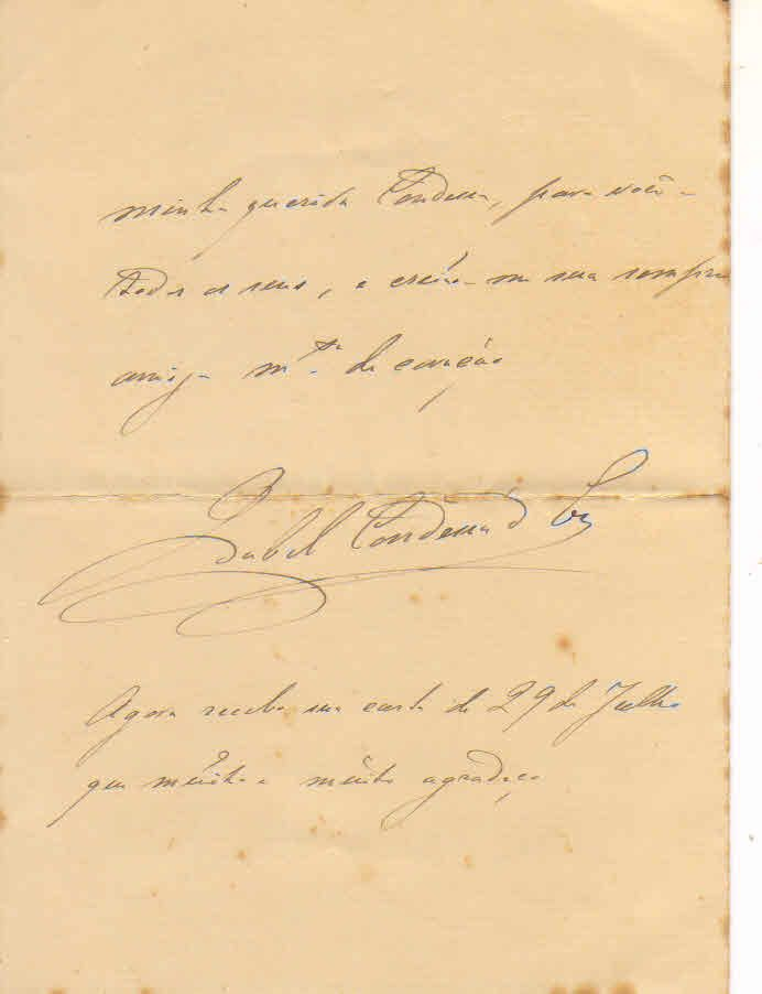 Carta Princesa Isabel, Eu, 21 de setembro de 1907 (3)