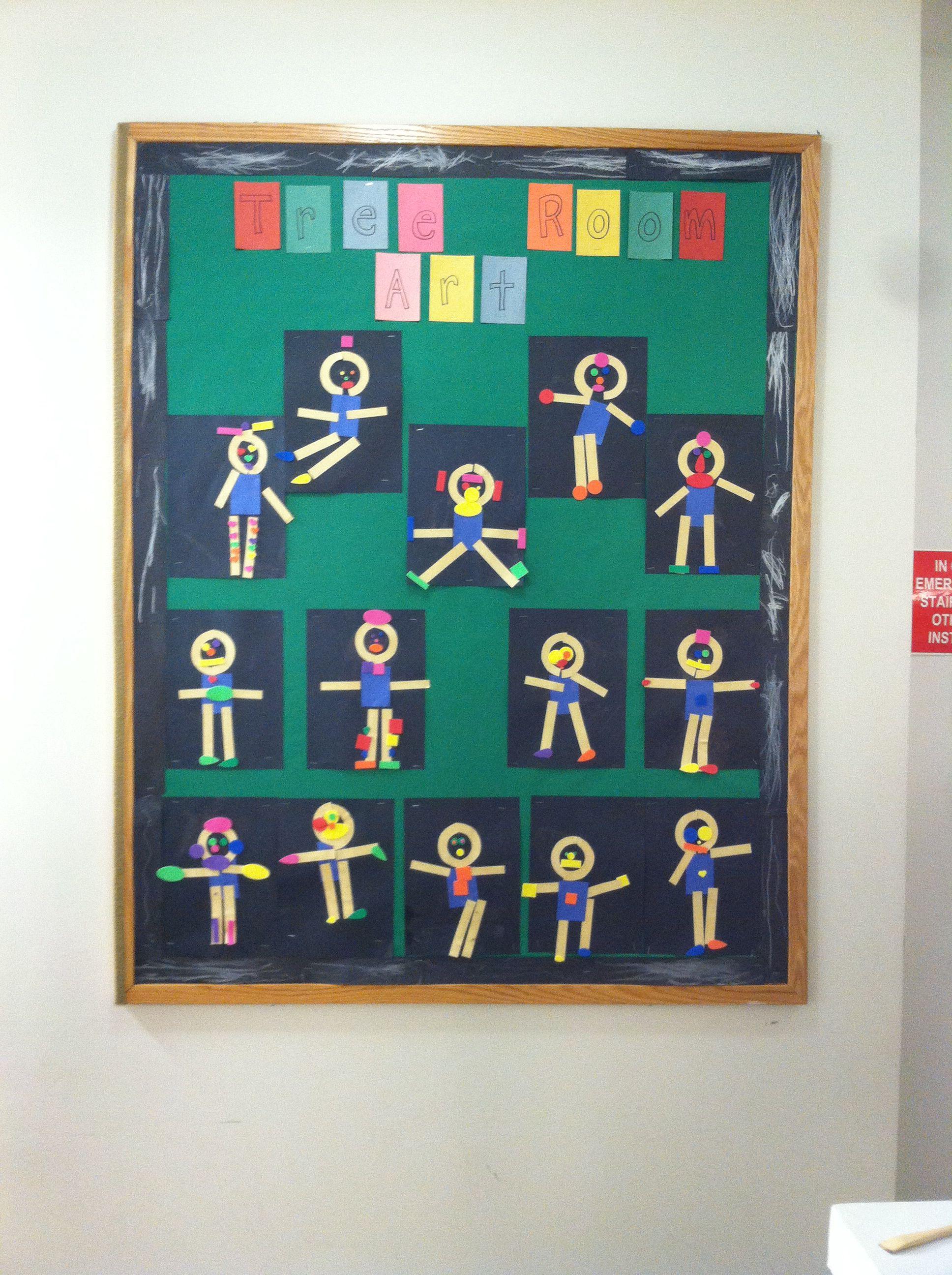 Mat Man People Collage